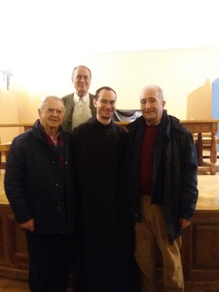 Prior de la Basílica, Presidente de la Cofradía de Santo Dominogo de la Calzada, Pedro Sabe,